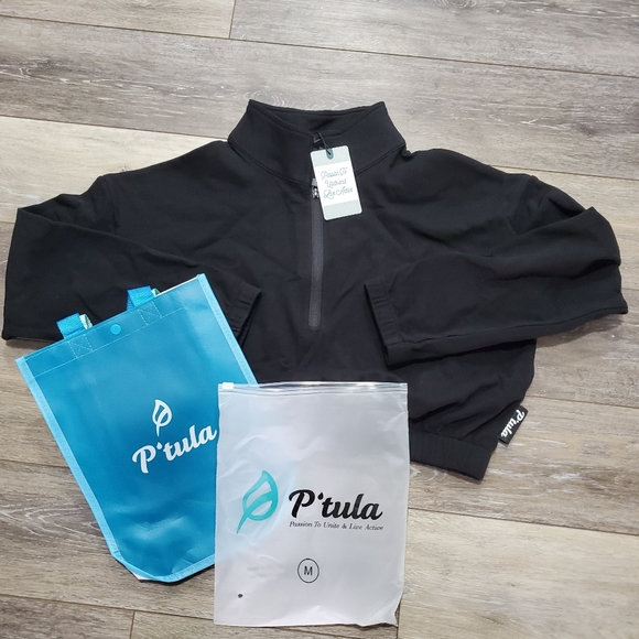 P Tula Tops Ptula Mara Scrunch Sweatshirt Poshmark In this huge ptula active review, i am giving my honest thoughts on ptula leggings and sports bras and how they hold up! ptula mara scrunch sweatshirt